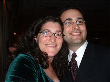 Jill and Yuval, January 2004